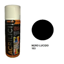 SPRAY NERO LUCIDO 103 ACRILICO BRIXO 400ML