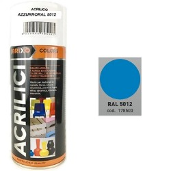 SPRAY AZZURRO RAL 5012 ACRILICO BRIXO 400ML