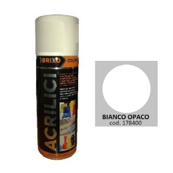 SPRAY BIANCO OPACO 102 ACRILICO BRIXO 400ML