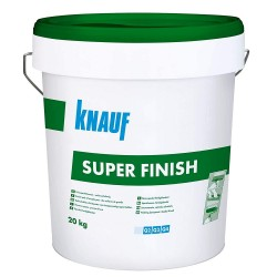 STUCCO SUPER FINISH IN PASTA PER GIUNTI Q2 E RASATURE Q3-Q4  20 kg  KNAUF